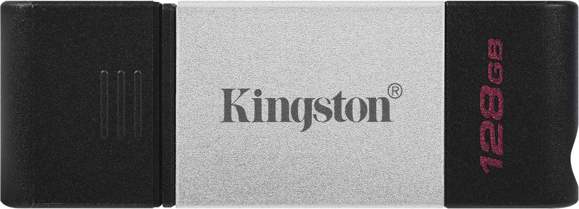Флеш-накопитель Kingston DataTraveler 80 OTG USB Type-C, 128 ГБ