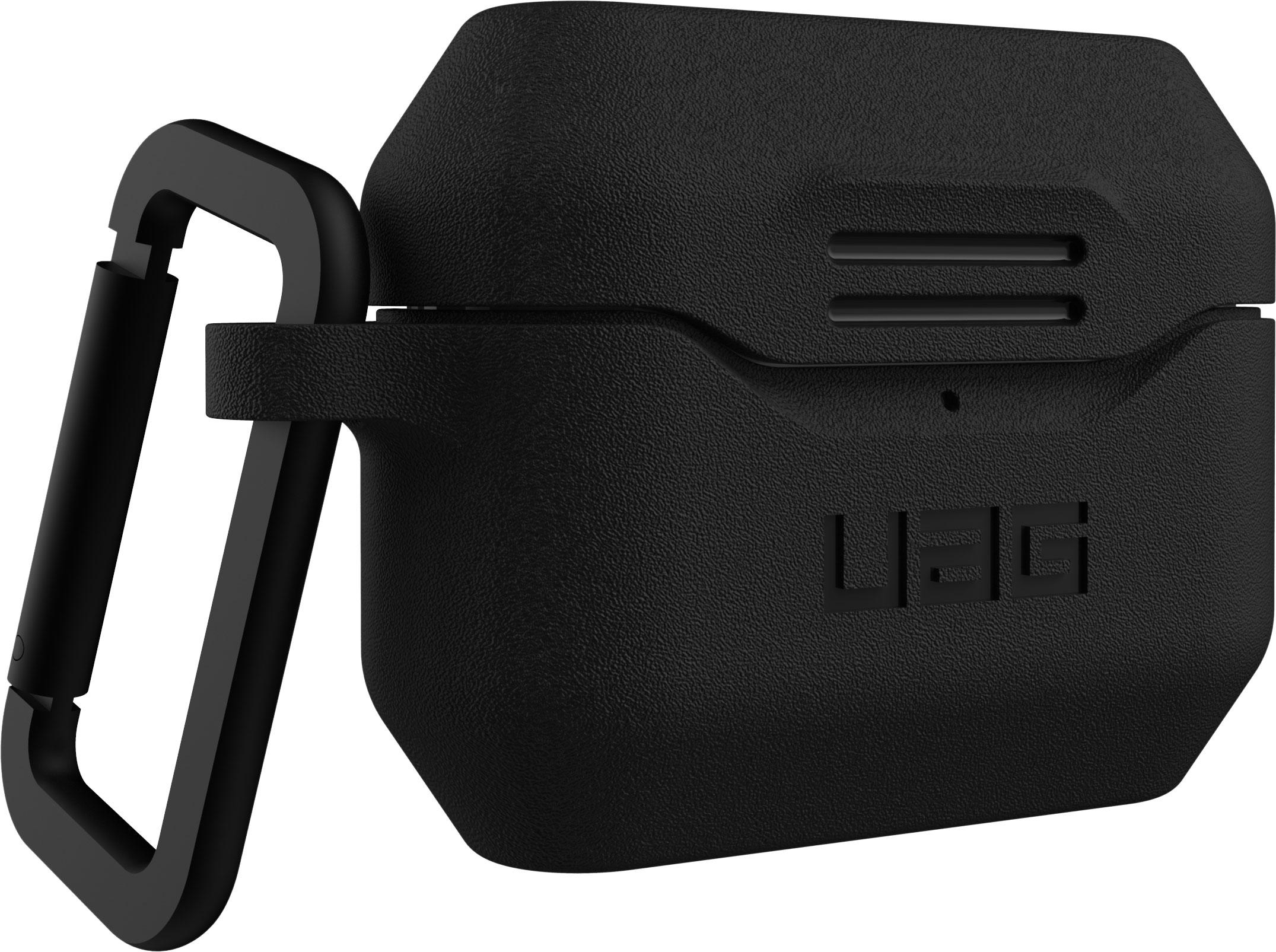 Чехол UAG для AirPods Pro, силикон, черный