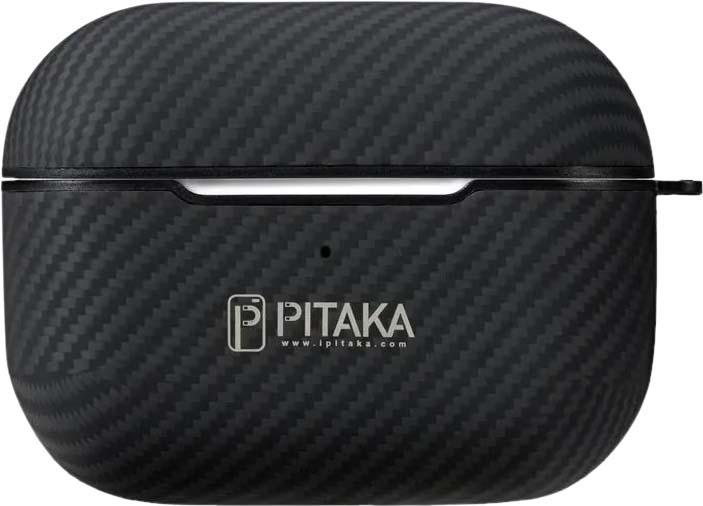 Чехол Pitaka AirPodPal Mini для AirPods Pro, черный