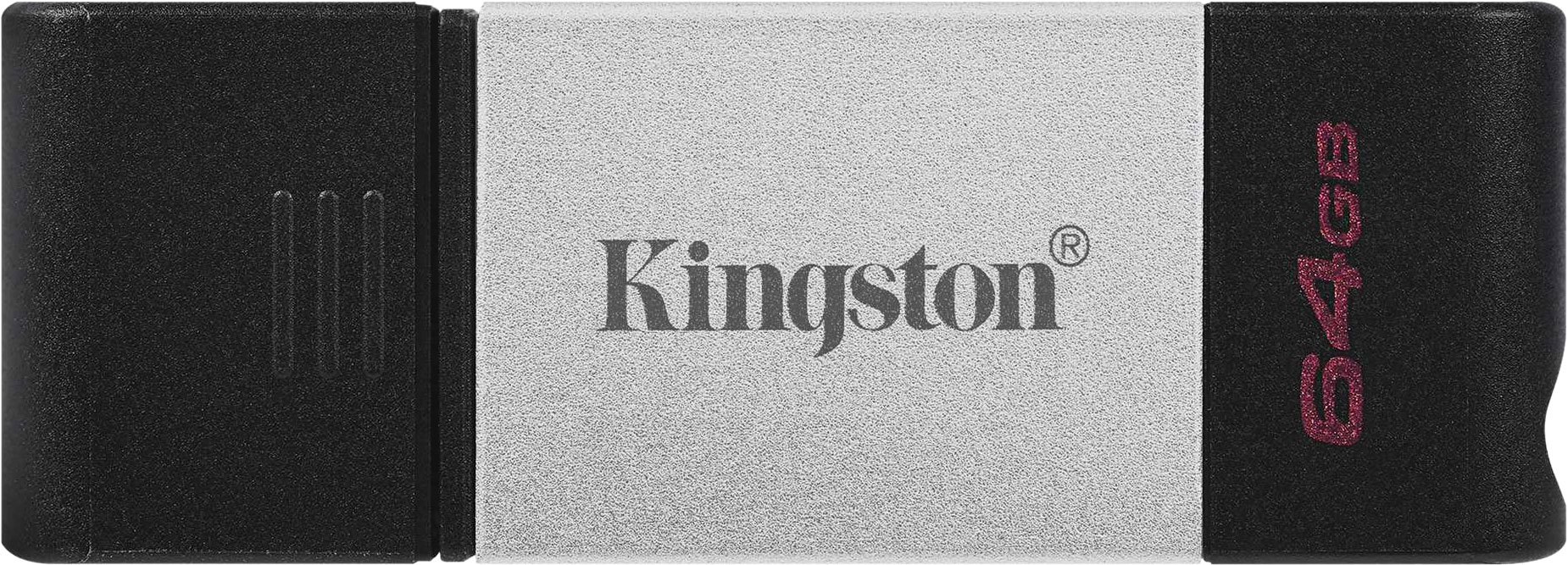 Флеш-накопитель Kingston DataTraveler 80 OTG USB Type-C, 64 ГБ
